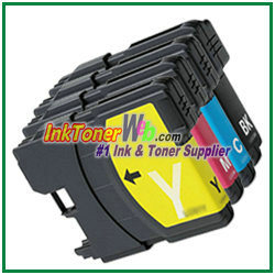 Brother LC61 Compatible Ink Cartridges - InkTonerWeb.com