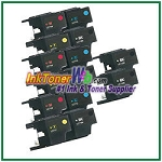 Brother LC71 Compatible ink Cartridges - 14 Piece Combo