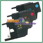 Brother LC71 Compatible ink Cartridges - 3 Piece Combo