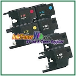 Brother LC71 Compatible ink Cartridges - 6 Piece Combo