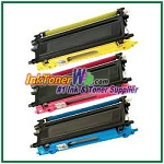 Brother TN210C, TN210M, TN210Y High Yield Compatible Toner Cartridges - 3 Piece Combo