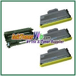 Brother TN360 & DR360 Compatible Toner Cartridge & Drum Unit - 4 Piece Combo