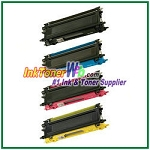 Brother TN115BK, TN115C, TN115M, TN115Y High Yield Compatible Toner Cartridges - 4 Piece Combo