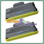 Brother TN360 High Yield Compatible Toner Cartridges - 2 Piece