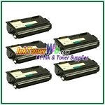 Brother TN560 High Yield Compatible Toner Cartridges - 5 Piece