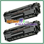 Canon 104 (FX-9/FX-10) Compatible Toner Cartridges - 2 Piece