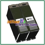 Dell Series 22 Compatible Black ink Cartridge -2 Piece