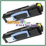 Dell 1700/1710 High Yield Compatible Toner Cartridge - 2 Piece