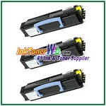 Dell 1700/1710 High Yield Compatible Toner Cartridge - 3 Piece