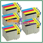 Epson 125 T125120-T125420 Compatible ink Cartridges - 20 Piece Combo