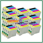 Epson 200XL T200XL120-T200XL420 Compatible ink Cartridges - 40 Piece Combo