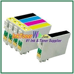 Epson 200XL T200XL120-T200XL420 Compatible ink Cartridges - 5 Piece Combo