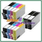 HP 564XL CN684WN-CN687WN  (NEW VERSION) Compatible ink Cartridges - 10 Piece Combo