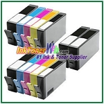 HP 564XL CN684WN-CN687WN CR277WN  (NEW VERSION) Compatible ink Cartridges - 12 Piece Combo