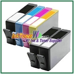 HP 564XL CN684WN-CN687WN  (NEW VERSION) Compatible ink Cartridges - 6 Piece Combo