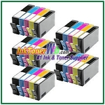 HP 564XL CN684WN-CN687WN CR277WN  (NEW VERSION) Compatible ink Cartridges - 25 Piece Combo