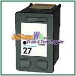 HP 27 C8727AN Compatible Black ink Cartridge