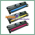 HP 121A C9701-03A Compatible Toner Cartridges - 3 Piece Combo
