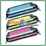 HP 502A Q6471-73A Compatible Toner Cartridges - 3 Piece Combo