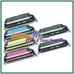 HP 501A / 502A Q6470-73A Compatible Toner Cartridges - 6 Piece Combo