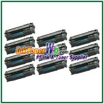 HP 53A Q7553A Compatible Toner Cartridge - 10 Piece