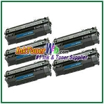 HP 53A Q7553A Compatible Toner Cartridge - 5 Piece