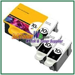 Kodak 10 Compatible ink Cartridges - 4 Piece Combo