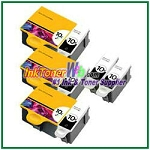 Kodak 10 Compatible ink Cartridges - 8 Piece Combo