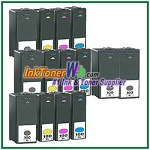 Lexmark 100XL Compatible ink Cartridges - 14 Piece Combo