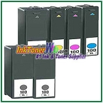 Lexmark 100XL Compatible ink Cartridges - 6 Piece Combo