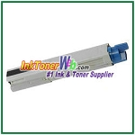 OKI Data 43459304 High Yield Compatible Black Toner Cartridge for C3400n/C3530n MFP/C3600n/MC360n MFP