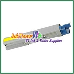 OKI Data 43459301 High Yield Compatible Yellow Toner Cartridge for C3400n/C3530n MFP/C3600n/MC360n MFP