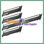 Toner Cartridge Compatible with Samsung CLT-K406S CLT-C406S CLT-M406S CLT-Y406S High Yield - 5 Piece Combo