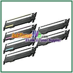 Toner Cartridge Compatible with Samsung CLT-K406S CLT-C406S CLT-M406S CLT-Y406S High Yield - 6 Piece Combo