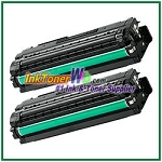 Black Toner Cartridge Compatible with Samsung CLT-K506L High Yield - 2 Piece