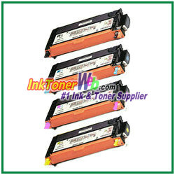 Xerox Phaser 6280 High Yield Compatible Color Toner Cartridges- InkTonerWeb.com