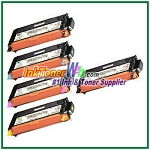 Xerox 106R01392-95 Compatible High Yield Toner Cartridges for Phaser 6280 series - 5 Piece Combo