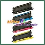 Brother TN210BK, TN210C, TN210M, TN210Y High Yield Compatible Toner Cartridges - 4 Piece Combo