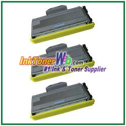 Brother TN330 High Yield Compatible Toner Cartridges - 3 Piece