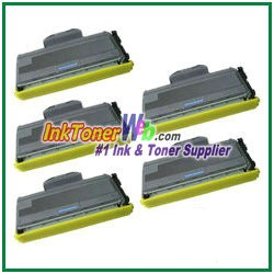 Brother TN330 High Yield Compatible Toner Cartridges - 5 Piece