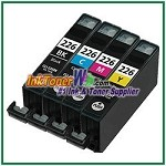 Canon CLI-226 Compatible ink Cartridges - 4 Piece Combo