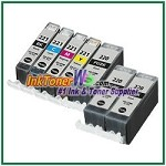 Canon PGI-220 CLI-221 Compatible ink Cartridges - 7 Piece Combo