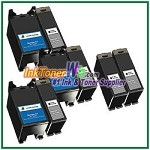 Dell Series 21 Compatible ink Cartridges - 8 Piece Combo