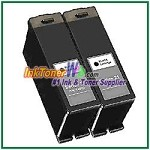 Dell Series 21 Compatible Black ink Cartridge -2 Piece