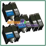 Dell Series 22 Compatible ink Cartridges - 8 Piece Combo