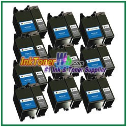 Dell Series 22 Compatible ink Cartridges - 20 Piece Combo