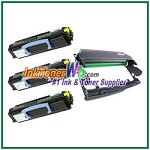 Dell 1700/1710 Compatible Imaging Drum & Toner Cartridges - 4 Piece Combo