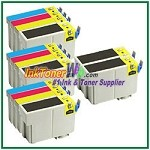 Epson 127 T127120-T127420 Compatible ink Cartridges - 14 Piece Combo