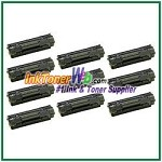 HP 36A CB436A  Compatible Toner Cartridge - 10 Piece