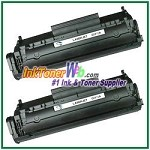 HP Q2612AD (Q2612AD#004) 12A Compatible Toner Cartridges - Dual Pack
